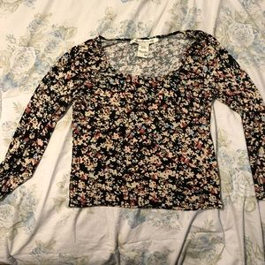 American Rag Floral Shirt Size Medium